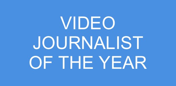 video journalist of the year