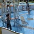 明石海峡公園で水遊び 夢っこランドの遊具とじゃぶじゃぶ池
