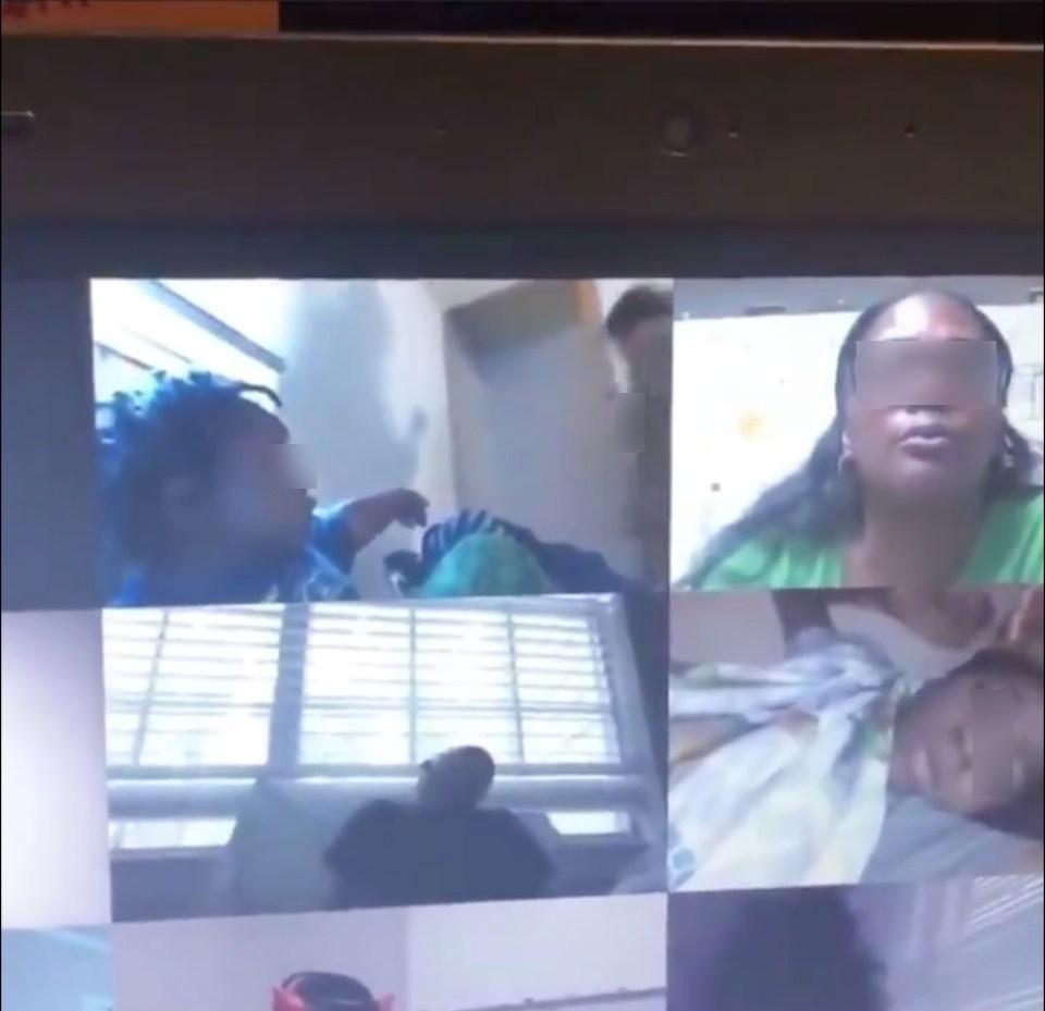 """""""¡Apaga la cámara!"""": Mamá aparece desnuda por accidente durante clase de su hijo"""