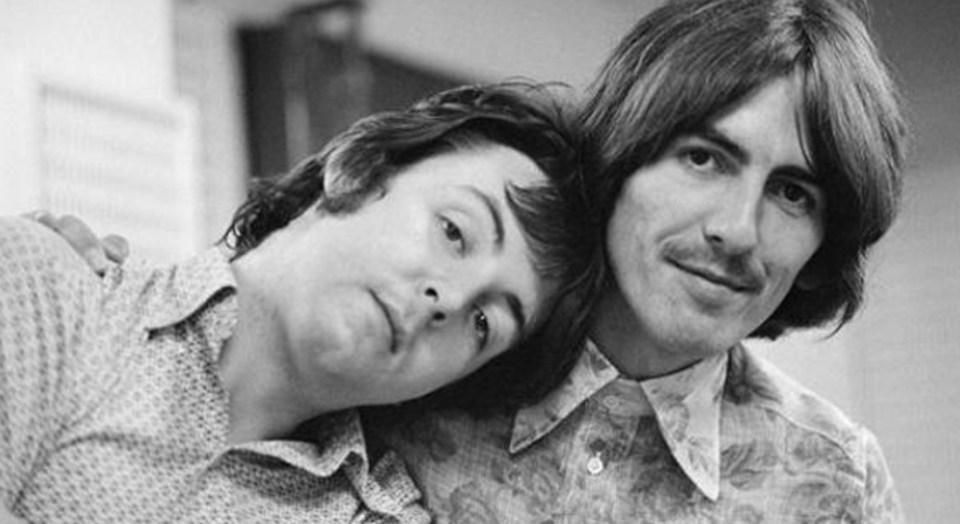 George Harrison le mandó una carta a un fan para destruir el auto de Paul McCartney