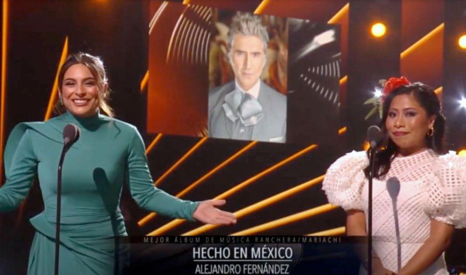 """""""Por eso estamos como estamos"""": Daniel Bisogno critica a Yalitza Aparicio por conducir los Latin Grammy"""