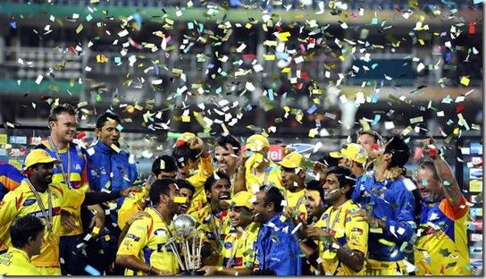 Chennai Super Kings win CLT 20