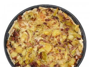 plat à tarte en poterie culinaire Oyera