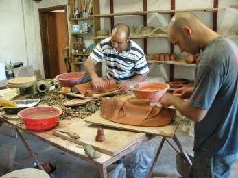 potiers de Molelos : Luis et José Lourosa