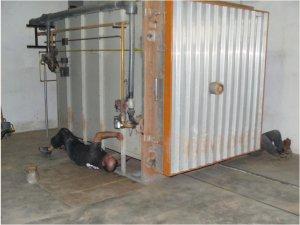 fermeture hermétique du four à gaz