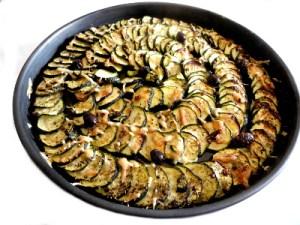 tarte aux courgettes