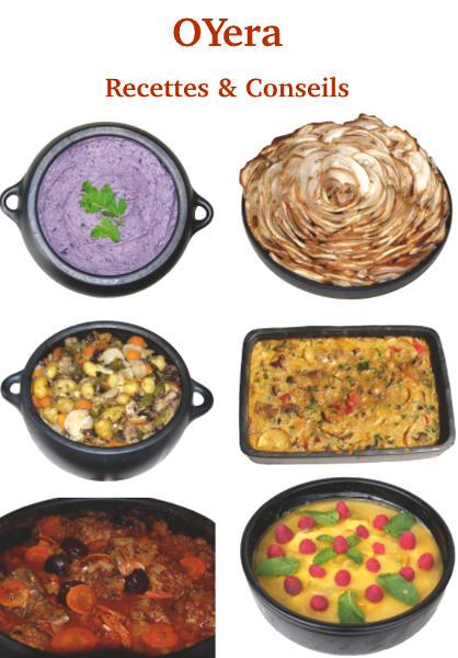Recettes & Conseils d'utilisation de la poterie culinaire Oyera