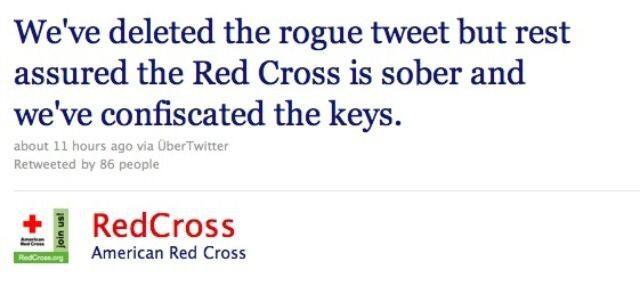 red cross twitter mistake apology signs you don't have the right marketing team