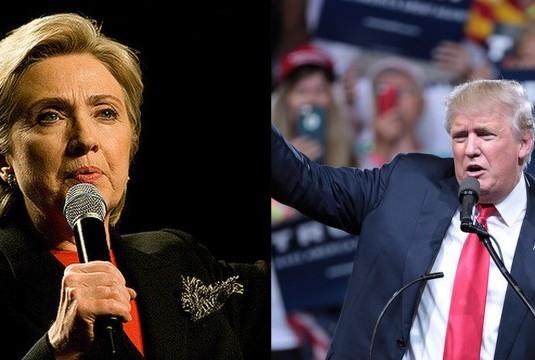 Clinton Photo Credit: Brett Weinstein; Trump Photo Credit: Gage Skidmore