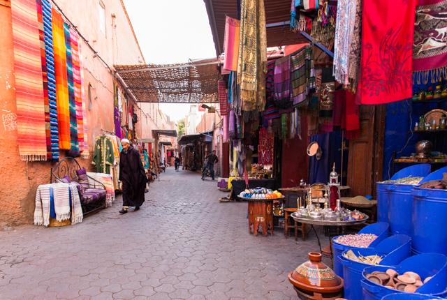 Street at the Riad Idra/Oyster