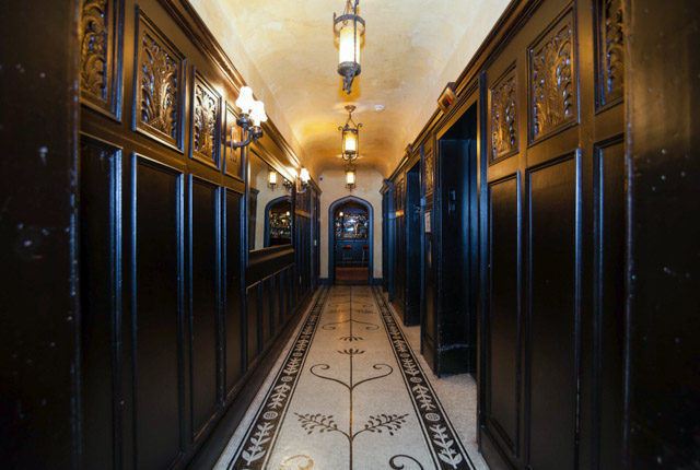 Elevators at The Bowery Hotel/Oyster