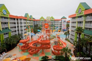 The Waterpark at the Nickelodeon Suites Resort -- Orlando