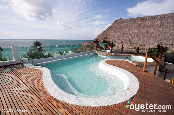 Clothing optional resorts like the Desire Riviera Maya can see some X-rated action.