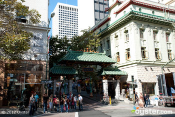 San Francisco's Chinatown stands ready to celebrate the Spring Festival.