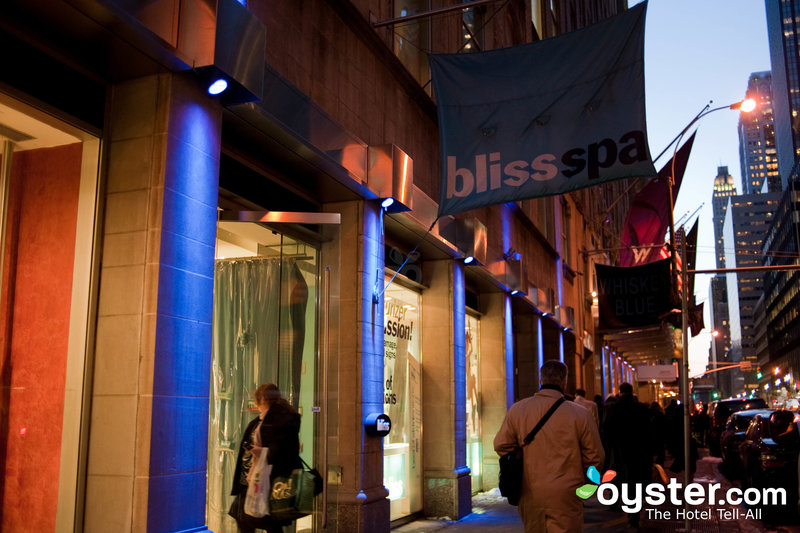 Bliss 49 spa at the W New York hotel in Manhattan