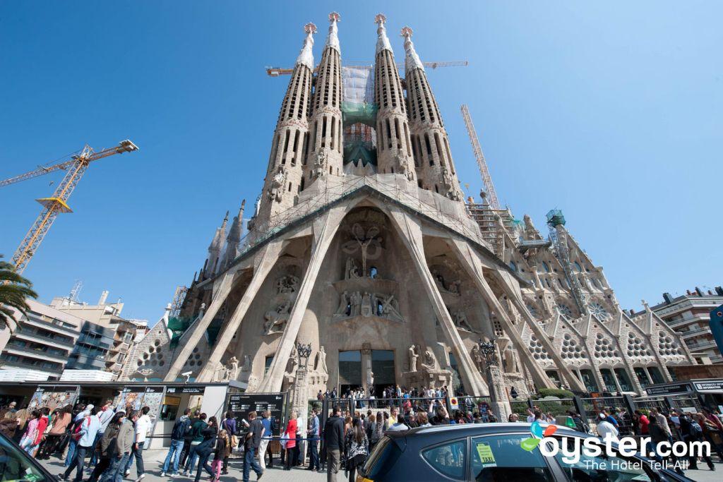 Sagrada Familia, Barcelona/Oyster