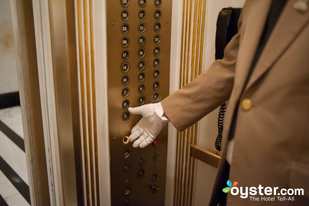 Elevators at The Carlyle, A Rosewood Hotel