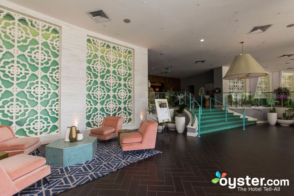 Lobby at Riviera Palm Springs Resort/Oyster