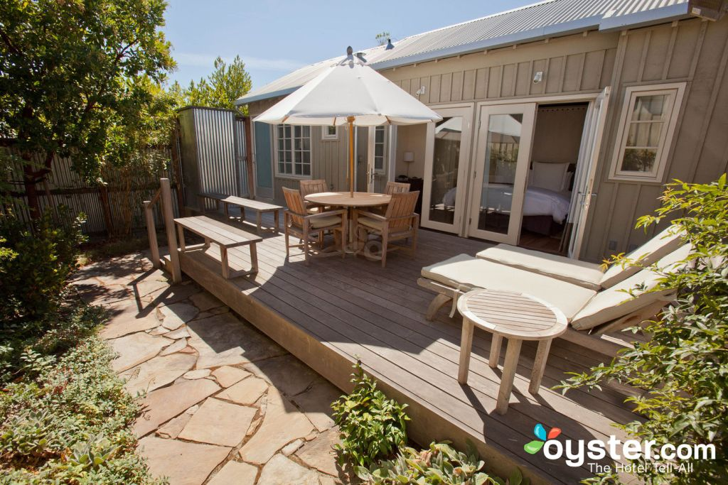 The Premier Garden Cottage at Carneros Resort and Spa, Napa/Oyster