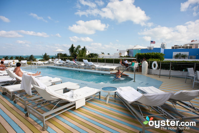 The Rooftop Pool at the Hotel Of South Beach