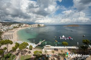 Beach at Sol Antillas Barbadosin Magaluf