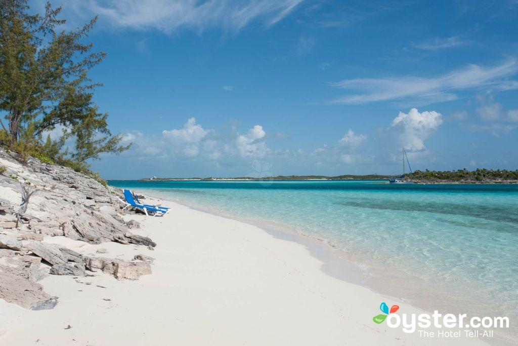 Beach at Fowl Cay Resort