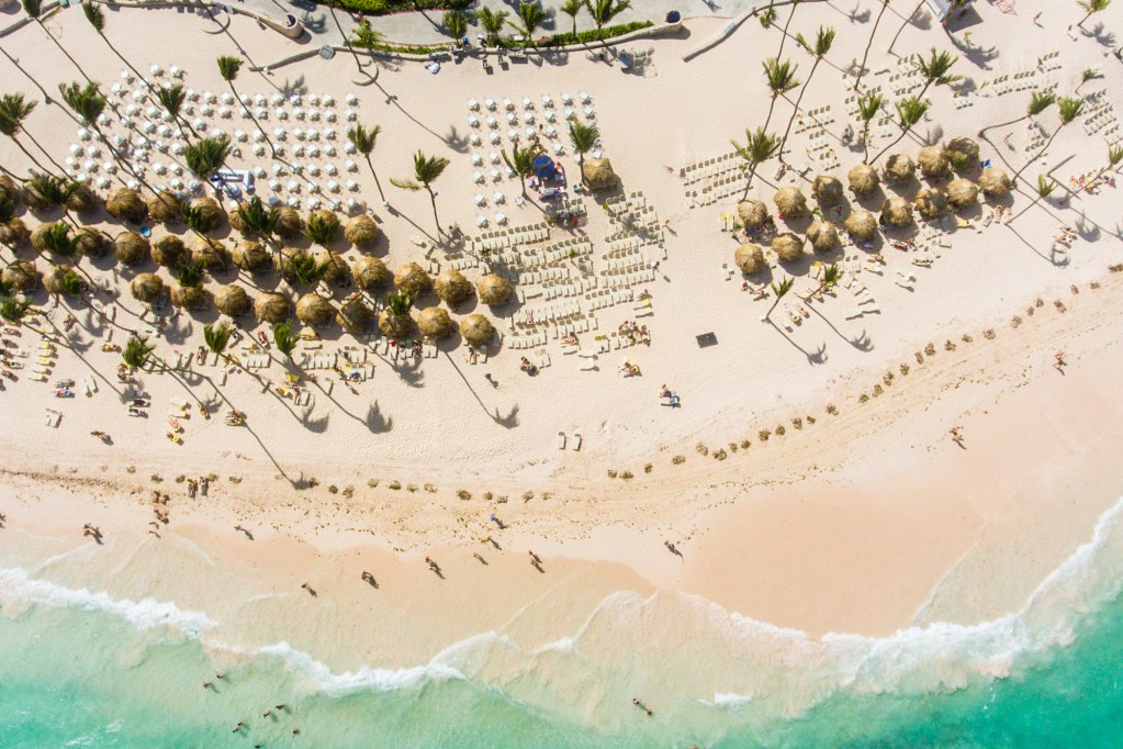 Aerial Photography at the Majestic Colonial Punta Cana