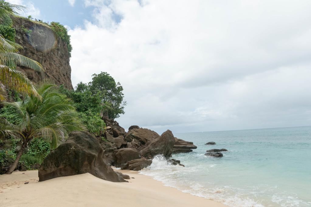 Beach at the Maca Bana