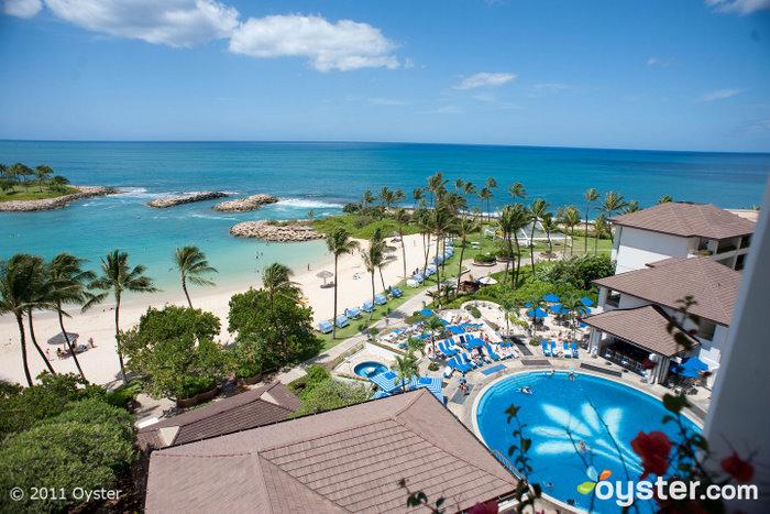 La piscine principale JW Marriott Ihilani Resort et Spa à Ko Olina; Oahu, HI