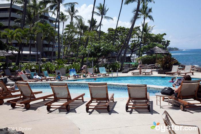 La piscine du Royal Kona Resort Big Island, HI
