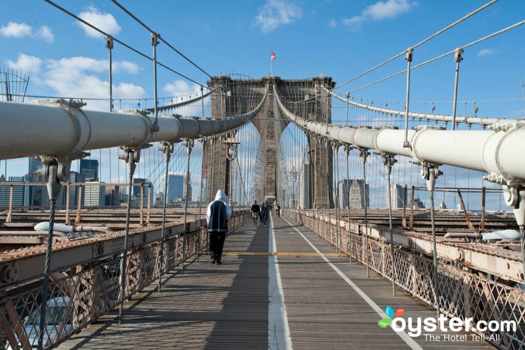 Ponte di Brooklyn a New York City / Oyster