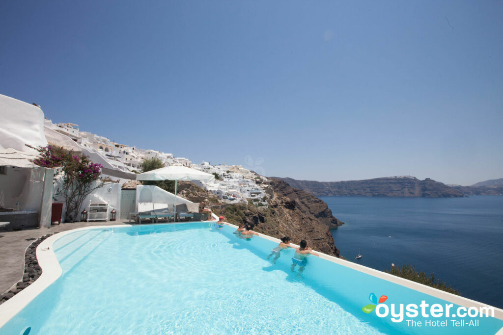 Andronis Luxury Suites à Oia, Santorin