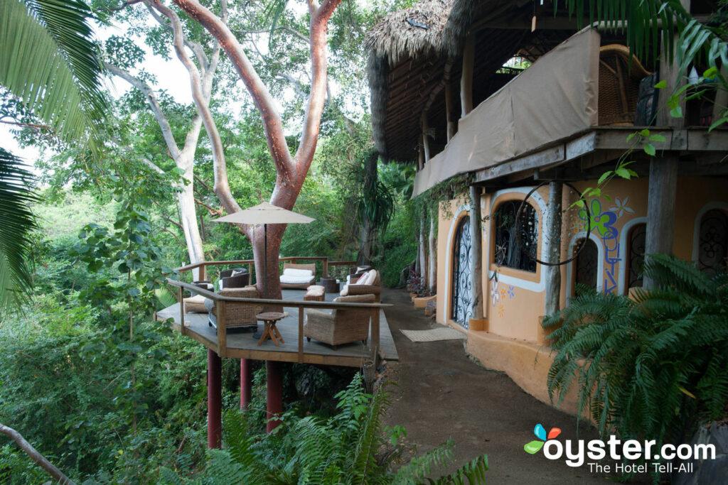 Lounge en Harmara Retreat en Sayulita / Oyster