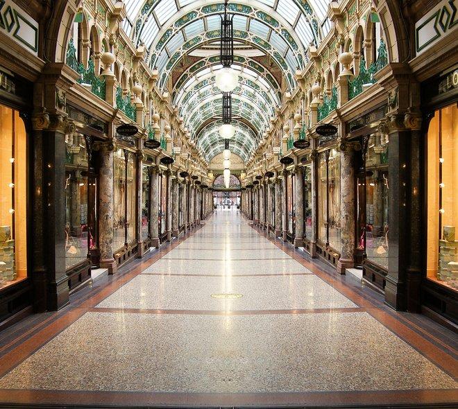 Queens Arcade; Foto cortesía de Rob Ellis a través de Flickr