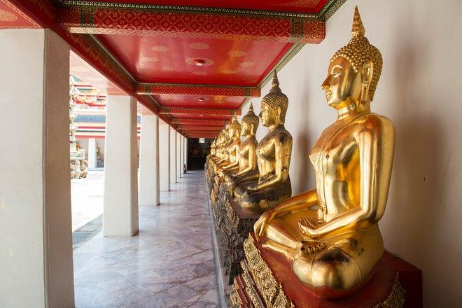 Buddha disteso Wat Pho, Bangkok / Oyster