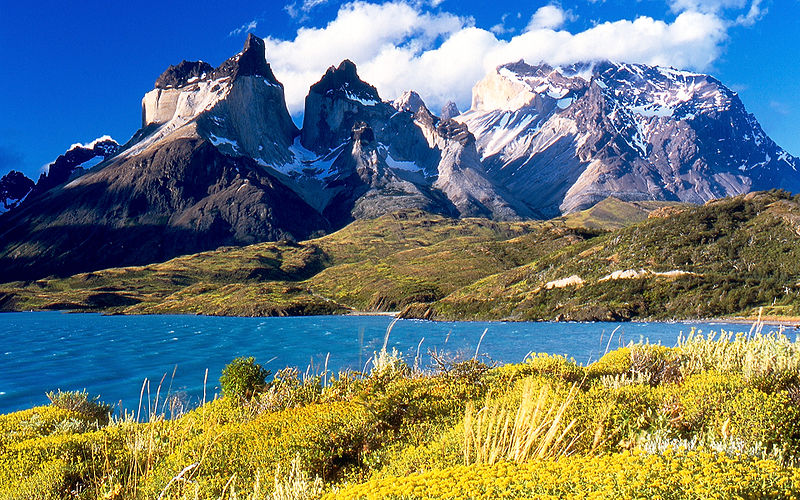 Torres del Paine, Cile; melenama / Flickr