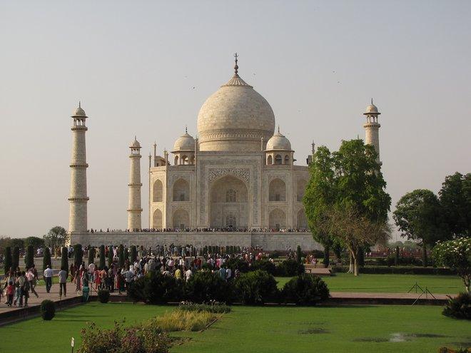 Taj Mahal, na Índia; Christopher John SSF / Flickr