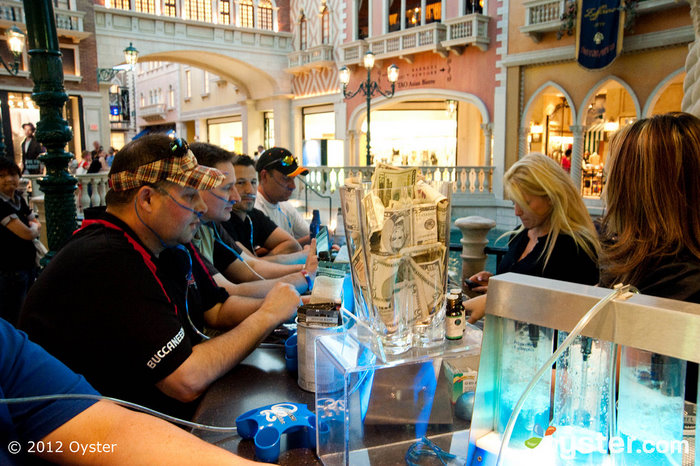 Oxygen Bar au Venetian Resort Hotel Casino; Las Vegas, NV