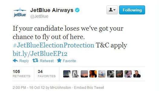 Per fortuna abbiamo delle compagnie aeree come JetBlue per far fuori i viaggi