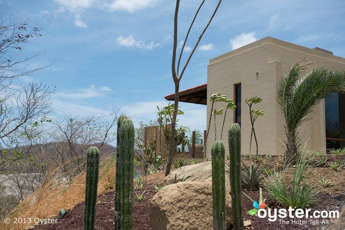 Gelände im Mukul Luxury Resort and Spa