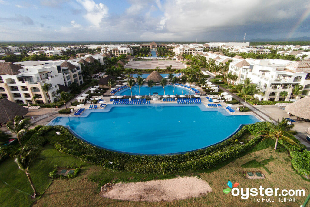 Veduta aerea all'Hard Rock Hotel & Casino Punta Cana / Oyster