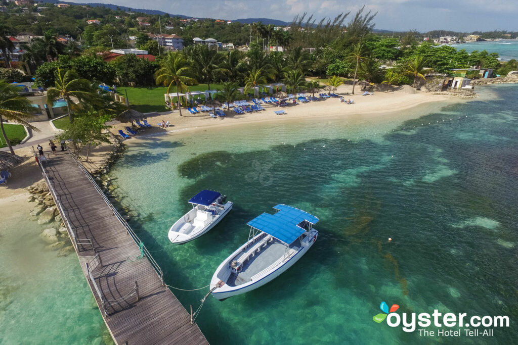 Aerial View of Holiday Inn Resort Montego Bay/Oyster