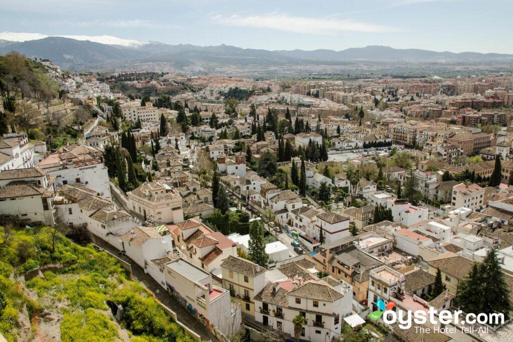Vista desde el Hotel Alhambra Palace, Granada / Oyster.