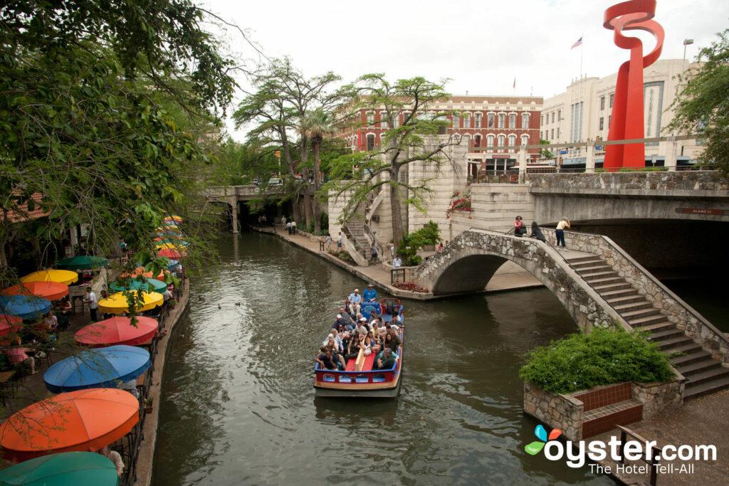 Riverwalk a San Antonio.