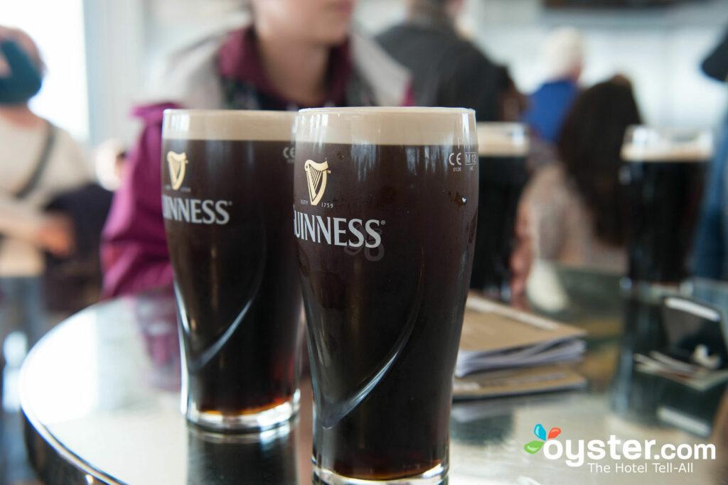 Guinness Storehouse, Dublin / Ostra