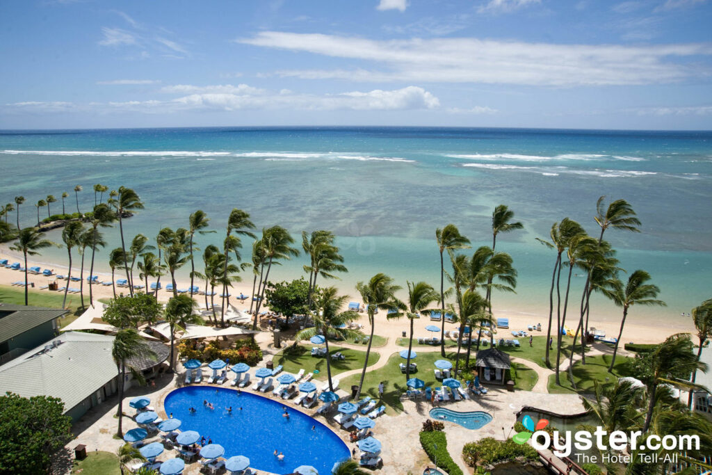 View from the Kahala Hotel and Resort
