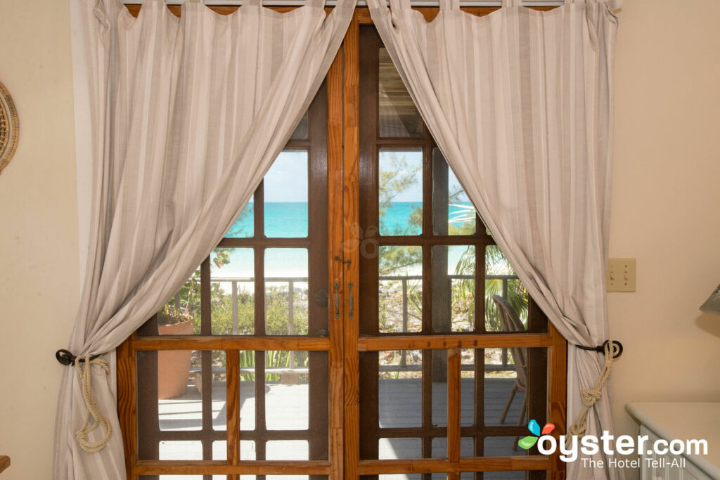 Vue depuis le cottage Lily House au Pigeon Cay Beach Club