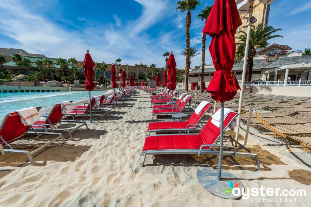 Playa de Mandalay Bay en la piscina del Mandalay Bay Resort & Casino / Oyster