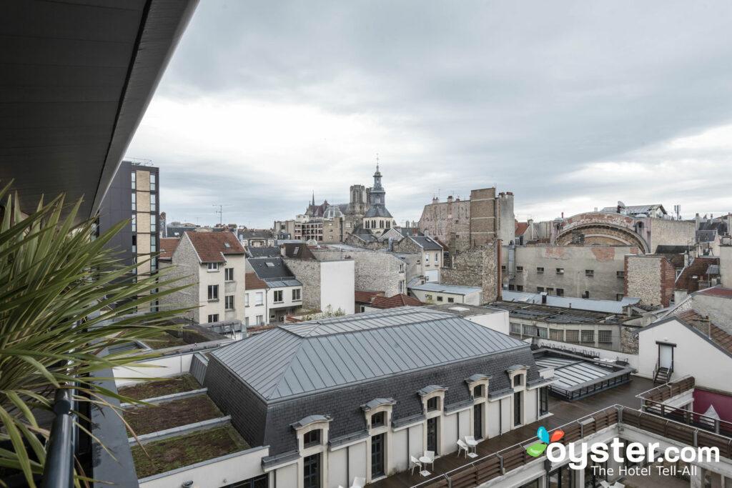 Vista desde el BEST WESTERN PLUS Hotel de la Paix, Reims / Oyster