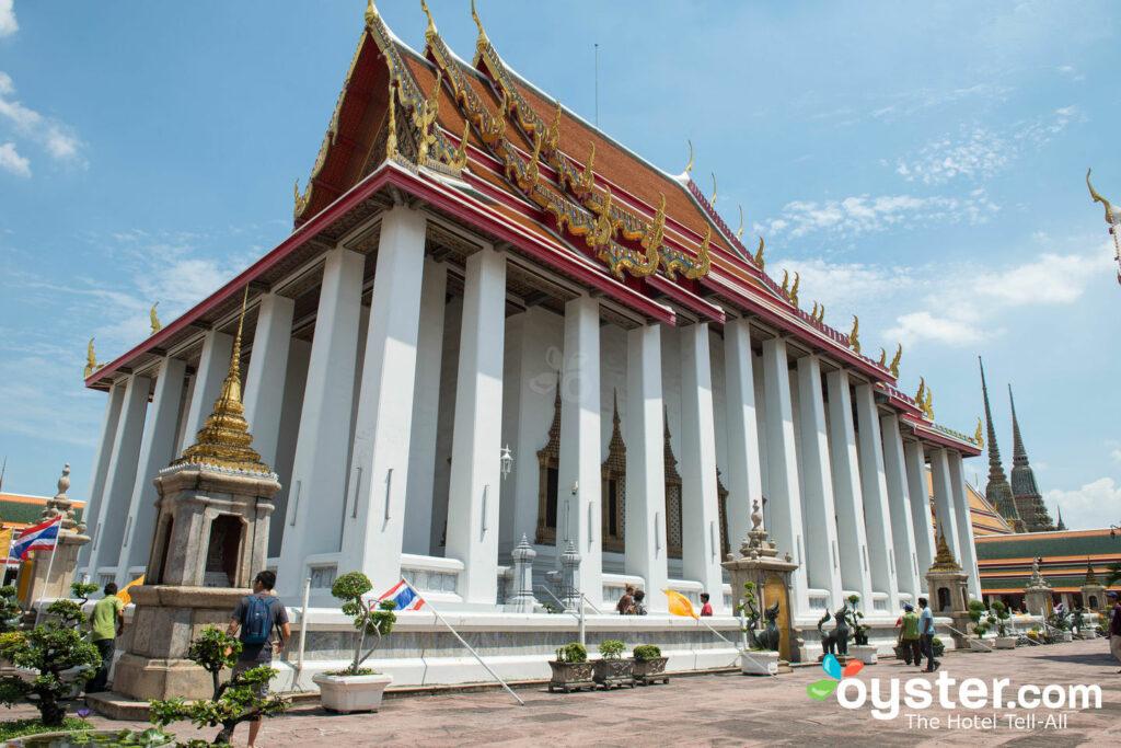 Wat Pho, Banguecoque / Ostra